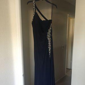 Dresses & Skirts - Navy Blue Prom Dress